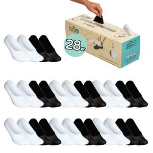 28 Paar Sneakersocken Box, Größe L (42-47)