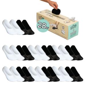 28 Paar Sneakersocken Box, Größe M (36-41)
