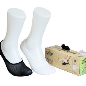 28 Pairs Sneakers socks Box, size S (24-35)