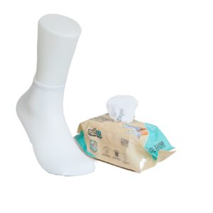 7 Pairs ADULTS ToGo Pack (36-46) Pulliez White, Low cut socks pack