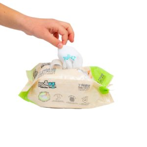 7 Pairs KIDS  ToGo Pack (24-35) Pulliez White, Low cut socks pack